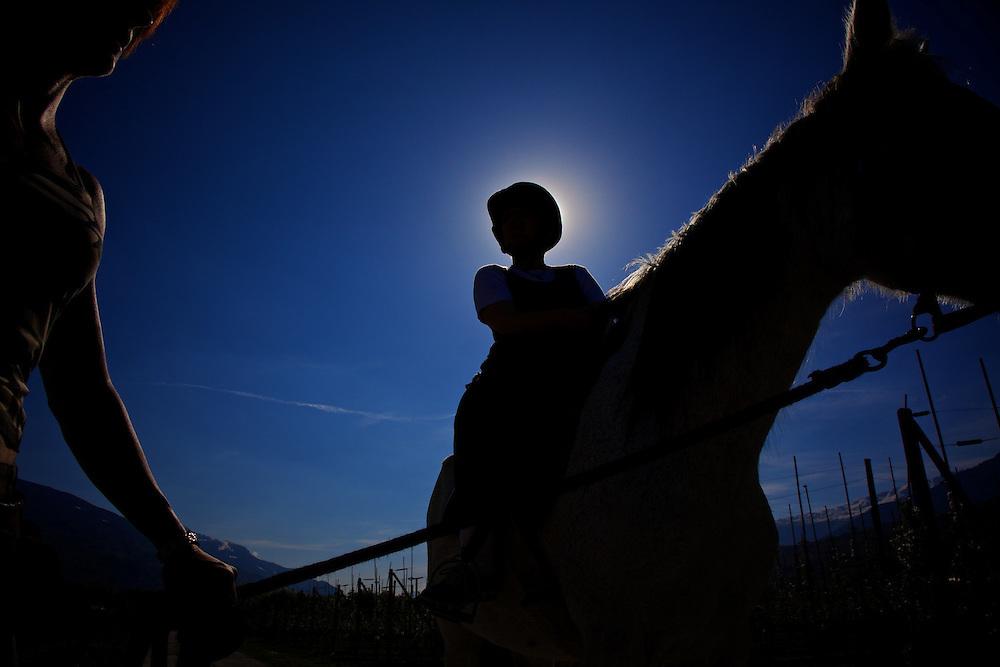 Horse instructor in Valais, Switzerland
