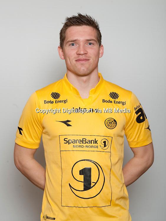 Fotball , Tippeligaen 2014 , Elitesereien , portrett , portretter , Bod&oslash;/Glimt , Thomas Jacobsen<br /> Foto Astrid M. Nordhaug