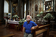 12 July 2016 Vita, Palermo Italy - Don Cosimo Scordato.