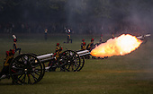 Duke Of Edinburgh 94th Birthday Gun Salute