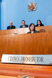 Crown Prosecutor in a Magistrates court