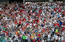 Supporters of England during the EURO 2016 Qualifier Group E match between Slovenia and England at SRC Stozice on June 14, 2015 in Ljubljana, Slovenia. Photo by Vid Ponikvar / Sportida