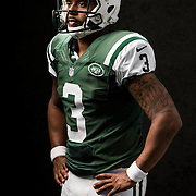 New York Jets quarterback Tajh Boyd (3) poses for a portrait during the NFLPA Rookie Premiere on Saturday, May 31, 2014 in Los Angeles. (Ric Tapia/AP Images for NFL Players Inc.)