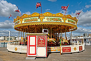 Carousel, Brighton Pier, Brighton, Sussex, Britain.