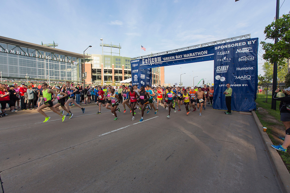 Cellcom Green Bay Marathon 2015.  Photo by Mike Roemer