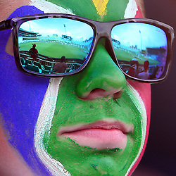 Durban South Africa - December 29, General views of Fans during the match between South Africa  and England day 4 of the 1st test , 29 December 2015. (Photo by Steve Haag) images for social media must have consent from Steve Haag