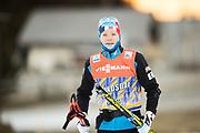 DAVOS, SCHWEIZ - 2016-12-09: Eirik Brandsdal under tr&auml;ning inf&ouml;r Viessmann FIS Cross Country World Cup den 9 december, 2016 i Davos, Schweiz. Foto: Nils Petter Nilsson/Ombrello<br /> ***BETALBILD***