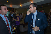 ALEX TULLOCH; JAMES STUNT, Spectator Life - 3rd birthday party. Belgraves Hotel, 20 Chesham Place, London, SW1X 8HQ, 31 March 2015
