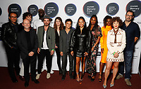 Award judges attend the media room during the 2019 Hyundai Mercury Prize Launch, Eventim Apollo, London, UK, Saturday 06 July 2019<br /> Photo JM Enternational