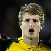 Dominic Shipperley, Australia,  during the Australia V New Zealand Final match at the IRB Junior World Championships in Argentina. New Zealand won the match 62-17 at Estadio El Coloso del Parque, Rosario, Argentina,. 21st June 2010. Photo Tim Clayton...