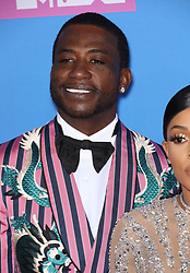 August 21, 2018 - New York City, New York, USA - 8/20/18.Gucci Mane at the 2018 MTV Video Music Awards held at Radio City Music Hall in New York City..(NYC) (Credit Image: © Starmax/Newscom via ZUMA Press)
