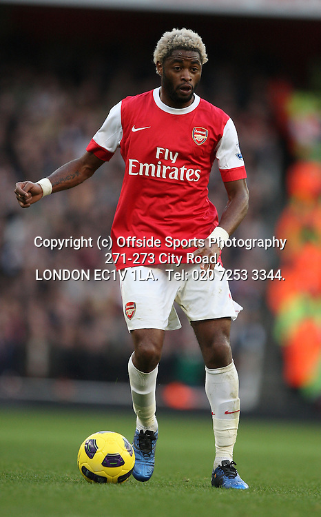 30/10/2010 Premier League football. Arsenal v West Ham United.<br /> Alex Song.<br /> Photo: Mark Leech.