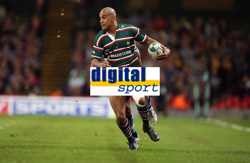 Photo: Rich Eaton.<br /> <br /> Cardiff Blues v Leicester Tigers. Heineken Cup. 29/10/2006. Tom Varndell who scored a try for Leicester Tigers
