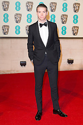 © Licensed to London News Pictures. 14/02/2016. London, UK. WILL POULTER arrives on the red carpet for the EE British Academy Film Awards 2016 after party held at Grosvenor House . London, UK. Photo credit: Ray Tang/LNPPhoto credit: Ray Tang/LNP