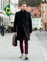 Portrait of Erik Ferfolja, owner of Mister Model Management Agency, on November 14, 2016 in Ljubljana, Slovenia. Photo by Vid Ponikvar / Sportida