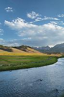 Salmon River Sawtooth Mountains Idaho