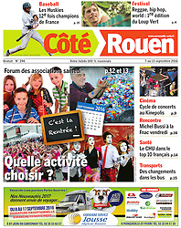 Andrew Medeiros, Coté Rouen Magazine, 2016.