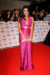 Shobna Gulati at the National Television Awards held in London on Wednesday, 25th January 2012. Photo by: i-Images
