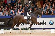 Marieke Pijnenburg - Wousseaudonja<br /> KWPN Hengstenkeuring 2016<br /> © DigiShots