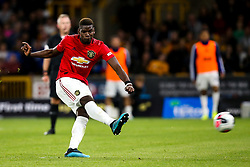 Paul Pogba of Manchester United takes and misses a penalty - Mandatory by-line: Robbie Stephenson/JMP - 19/08/2019 - FOOTBALL - Molineux - Wolverhampton, England - Wolverhampton Wanderers v Manchester United - Premier League