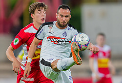 25.05.2016, Franz Fekete Stadion, Kapfenberg, AUT, 2. FBL, KSV 1919 vs SV Austria Salzburg, 36. Runde, im Bild Maximilian Ritscher (KSV 1919), Lukas Katnik (SV Austria Salzburg) // during the Austrian Erste Liga Match, 36th Round, between KSV 1919 and SV Austria Salzburg at the Franz Fekete Stadium, Kapfenberg, Austria on 2016/05/25, EXPA Pictures © 2016, PhotoCredit: EXPA/ Dominik Angerer