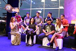 Raimundos durante entrevista a tvcom no Planeta Atlântida 2013/SC, que acontece nos dias 11 e 12 de janeiro no Sapiens Parque, em Florianópolis. FOTO: Itamar Aguiar/Preview.com
