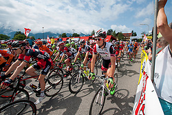 Cyclist during the 175 km long 5th stage from Drobollach to Matrei in Osttirol at 67th Tour of Austria, on July 8, 2015 in Drobollach, Austria. Photo by Urban Urbanc / Sportida
