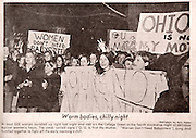 18625Copy photos from old Post articles:..women protesting their curfew hours in 1969