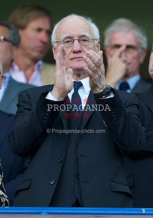 LONDON, ENGLAND - Saturday, August 20, 2011: Chelsea's chairman Bruce Buck during the Premiership match against West Bromwich Albion at Stamford Bridge. (Pic by David Rawcliffe/Propaganda)