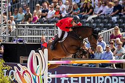 Rutschi Niklaus, SUI, Cardano CH<br /> European Championship Jumping<br /> Rotterdam 2019<br /> © Hippo Foto - Dirk Caremans<br /> Rutschi Niklaus, SUI, Cardano CH