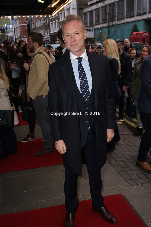 London,England, UK : 25th April 2016 : Gary Kemp attend the Doctor Faustus – Gala Opening Night at the Duke of York's Theatre, St Martin's Lane , London. Photo by See Li