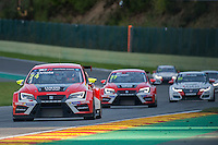 #74 Team Craft-Bamboo (HKG). LUKOIL SEAT Leon TCR. Pepe Oriola (ESP). TCR Race 1 as part of the WEC 6 Hours of Spa-Francorchamps 2016 at Circuit Spa-Francorchamps, Stavelot, Spa-Francorchamps, Belgium . May 06 2016. World Copyright Peter Taylor/PSP.
