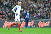 England Forward Jamie Vardy during the International Friendly match between England and Spain at Wembley Stadium, London, England on 15 November 2016. Photo by Mark Davies.