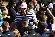 Dustin Johnson (Usa) during the practice round of Ryder Cup 2018, at Golf National in Saint-Quentin-en-Yvelines, France, September 26, 2018 - Photo Philippe Millereau / KMSP / ProSportsImages / DPPI