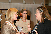 Kathy Hilton, Nicky Hilton, and contributing editor of Vanity Fair Wendy Stark Morrissey