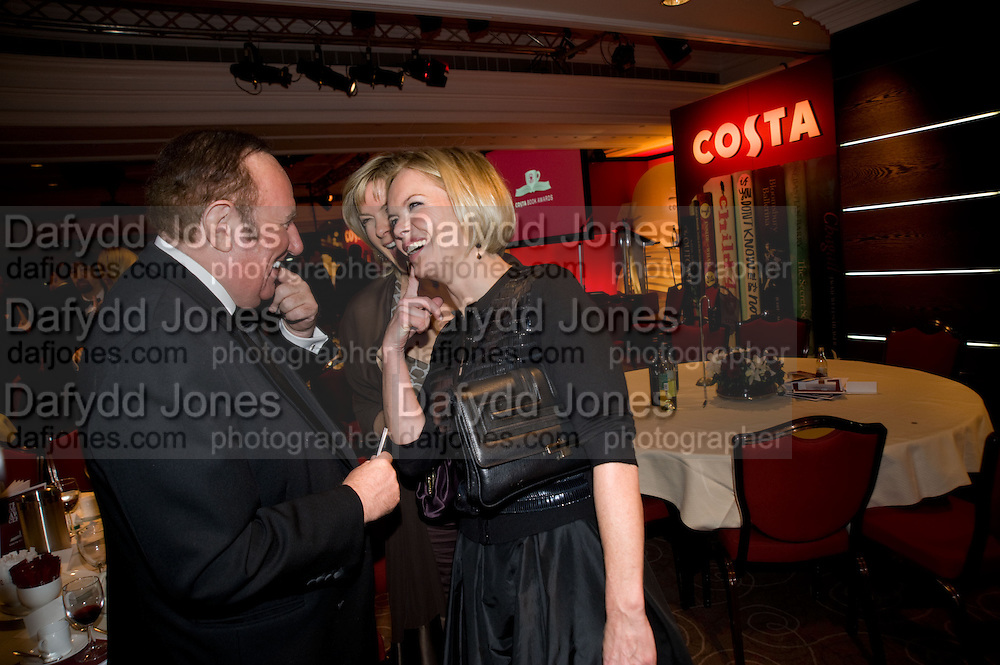 Andrew Neil; Mariela Frostrup, The Costa Book of the Year Award at the Costa Book Awards. The Intercontinental Hotel, Hamilton Place. London. 27 January 2009 *** Local Caption *** -DO NOT ARCHIVE -Copyright Photograph by Dafydd Jones. 248 Clapham Rd. London SW9 0PZ. Tel 0207 820 0771. www.dafjones.com<br /> Andrew Neil; Mariela Frostrup, The Costa Book of the Year Award at the Costa Book Awards. The Intercontinental Hotel, Hamilton Place. London. 27 January 2009