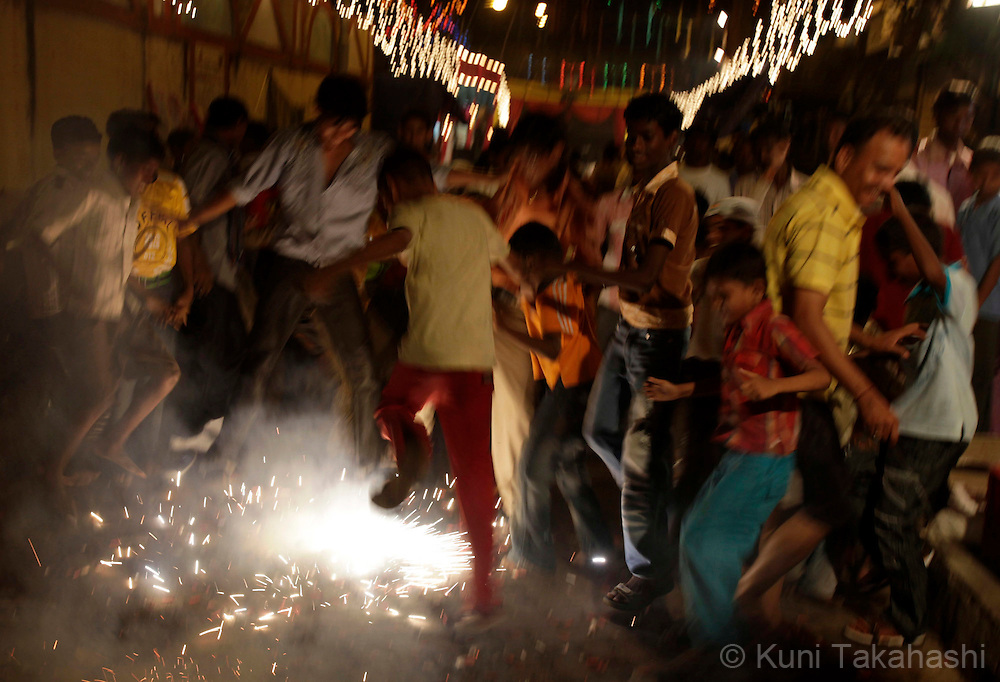 Diwali celebration in Mumbai, India