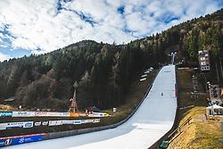 An empty ski jump before Day 1 of FIS Ski Jumping World Cup Ladies Ljubno 2020, on February 22th, 2020 in Ljubno ob Savinji, Ljubno ob Savinji, Slovenia. Photo by Matic Ritonja / Sportida