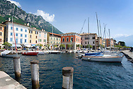 Lago di Garda, Italy, May 2009. The picturesque historical center and Marina of Gargnano. The northern part of the lake area is loved by sportive people, while the south is known for its relxed atmosphere. Photo by Frits Meyst/Adventure4ever.com