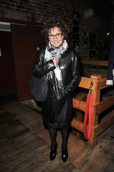 ZOE WANAMKER at the gala night party of Losing It staring Ruby Wax held at he Menier Chocolate Factory, 51-53 Southwark Street, London SE1 on 23rd February 2011.