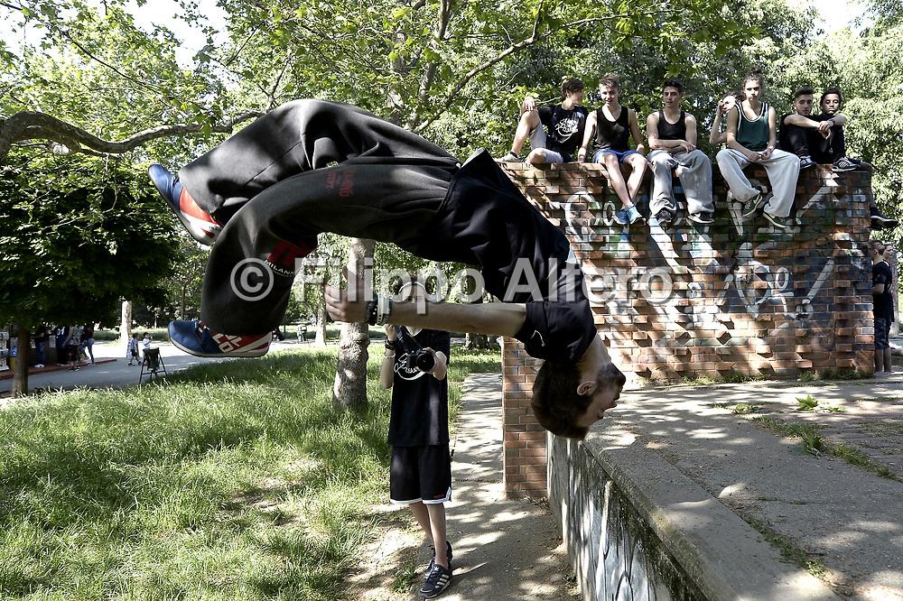 &copy; Filippo Alfero<br /> Parkour Torino, Move for Passion terza edizione<br /> Torino, 21/05/2016