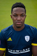 Fidel Edwards of Hampshire during the 2019 press day for Hampshire County Cricket Club at the Ageas Bowl, Southampton, United Kingdom on 27 March 2019.
