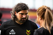 OSTERSUND, SWEDEN - JULY 21: The new ass coach Brian Wake of Ostersunds FK during the Allsvenskan match between Ostersunds FK and Trelleborgs FF on July 21 at Jamtkraft Arena, 2018 in Gothenburg, Sweden. Photo by Johan Axelsson/Ombrello ***BETALBILD***