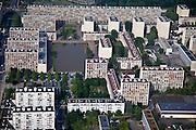 Meudon, département des Hauts-de-Seine (92), résidence du parc, common apartment slabs.