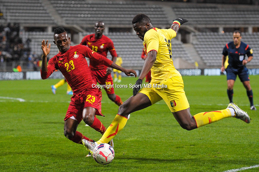 Harrison Afful / Bakary Sako  - 31.03.2015 - Ghana / Mali  - Match amical<br /> Photo : Andre Ferreira / Icon Sport