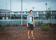 Rafa Nadal Academy in Manacor, Mallorca, Rafa posiert fuer ein Fotoshooting,<br /> <br />  - Rafa Nadal Academy -  -  Rafa Nadal Academy - Manacor - Mallorca - Spanien  - 24 October 2016. <br /> &copy; Juergen Hasenkopf