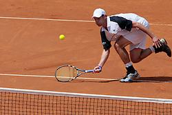 Rome, Italy 09/05/2007 - Tennis - Italian Atp Masters Series - Internazionali d'Italia 2007. Andy Roddick (USA)