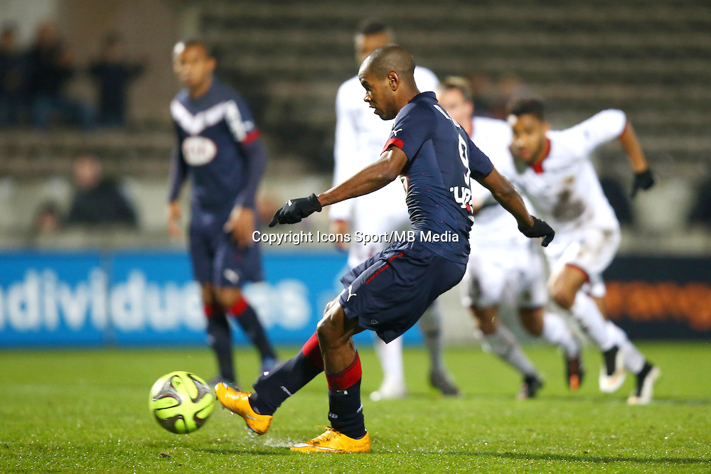 But Diego Rolan - 16.01.2015 - Bordeaux / Nice - 21e journee Ligue 1<br />