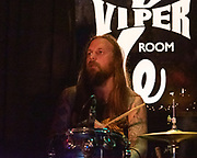 His Eyes Have Fangs perform at the Viper Room on August 29, 2019 in West Hollywood, California.