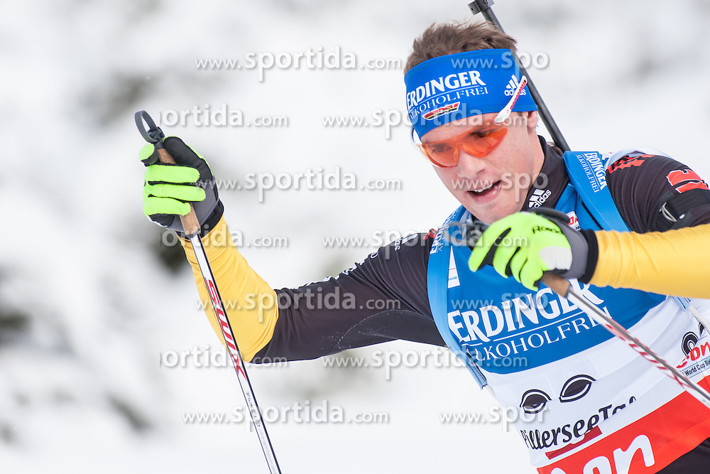 07.12.2012, Biathlonarena, Hochfilzen, AUT, E.ON IBU Weltcup, Sprint, Herren, im Bild Simon Schempp (GER) // Simon Schempp of Germany during Mens sprint of E.ON IBU Biathlon World Cup at the Biathlonstadium in Hochfilzen, Austria on 2012/12/07. EXPA Pictures © 2012, PhotoCredit: .EXPA/ Juergen Feichter